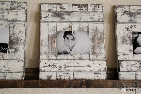 20 Creative DIY Picture Frame Ideas   DIY Projects for Men   Pinterest