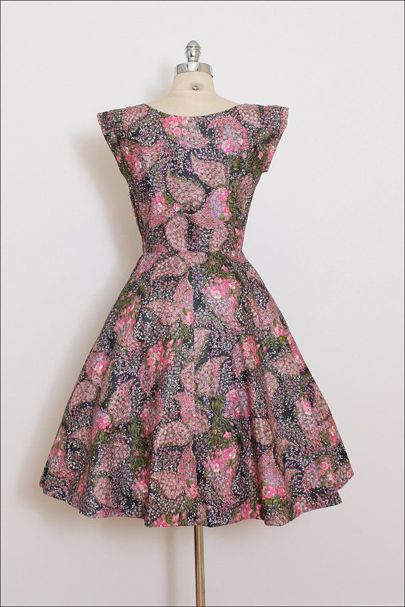Vintage 50s Dress Marcel Fashions 1950s by millstreetvintage | Love ...