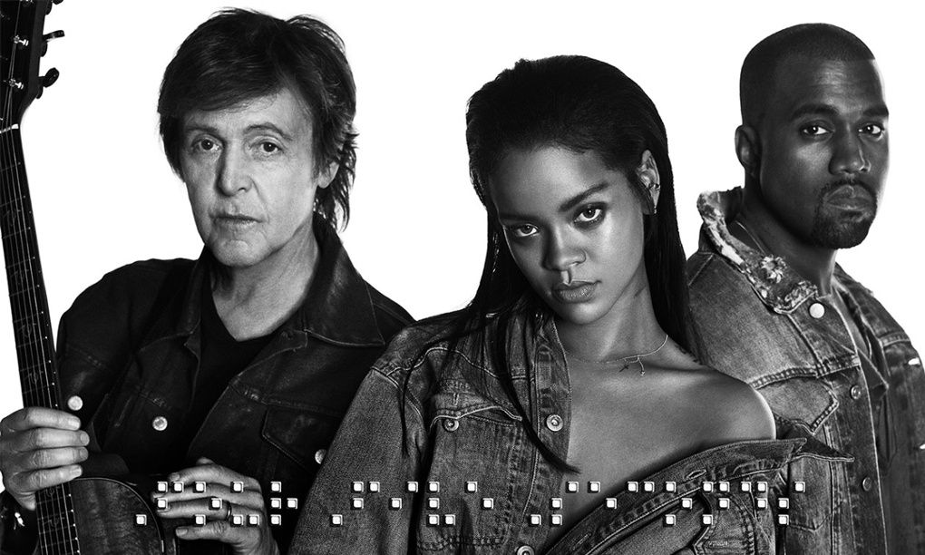 I Love Rihanna S New Song Four Five Seconds It S Everything I Feel Right Now Kanye West Paul Mccartney Paul Mccartney Rihanna Kanye West