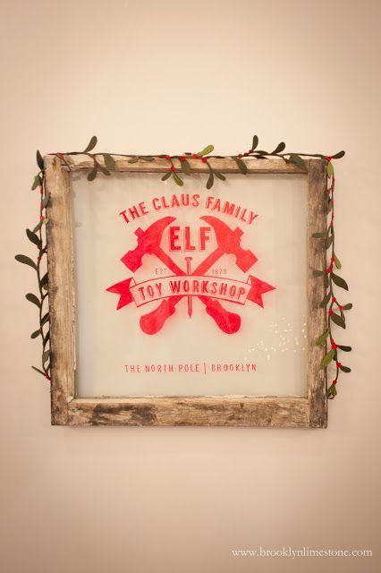 Brooklyn Limestone Holly Jolly Dining Room Aka Elf Toy Workshop