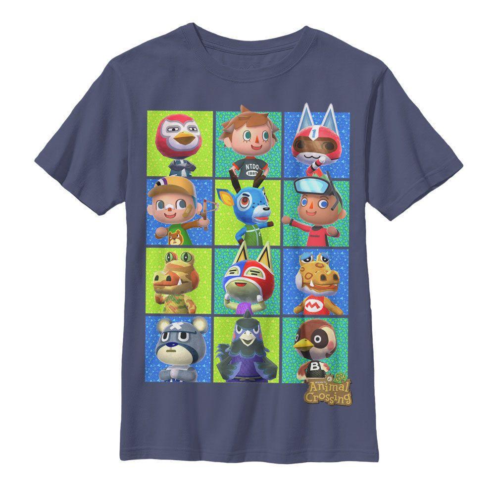 Nintendo Animal Crossing Box Boys Graphic T Shirt - Fifth Sun #Nintendo