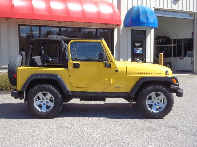 2006 Yellow Jeep Wrangler Rubicon 2dr Suv 4wd Http Www Iseecars
