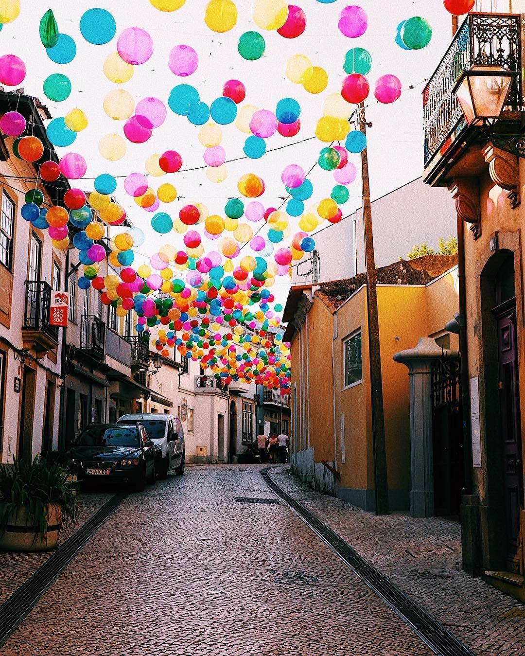 Color Imagination Take Over The City Of Agueda In Portugal With