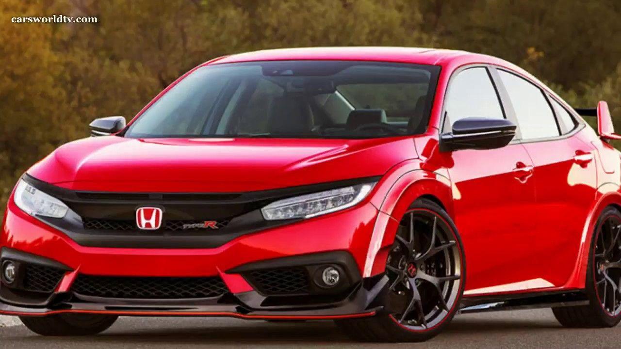 2018 Honda Civic Type R 2.0 320 Hp DESING AND DRIVENG