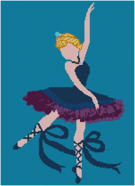 Elsa Cross stitch Pattern/Disney cross stitch/disney