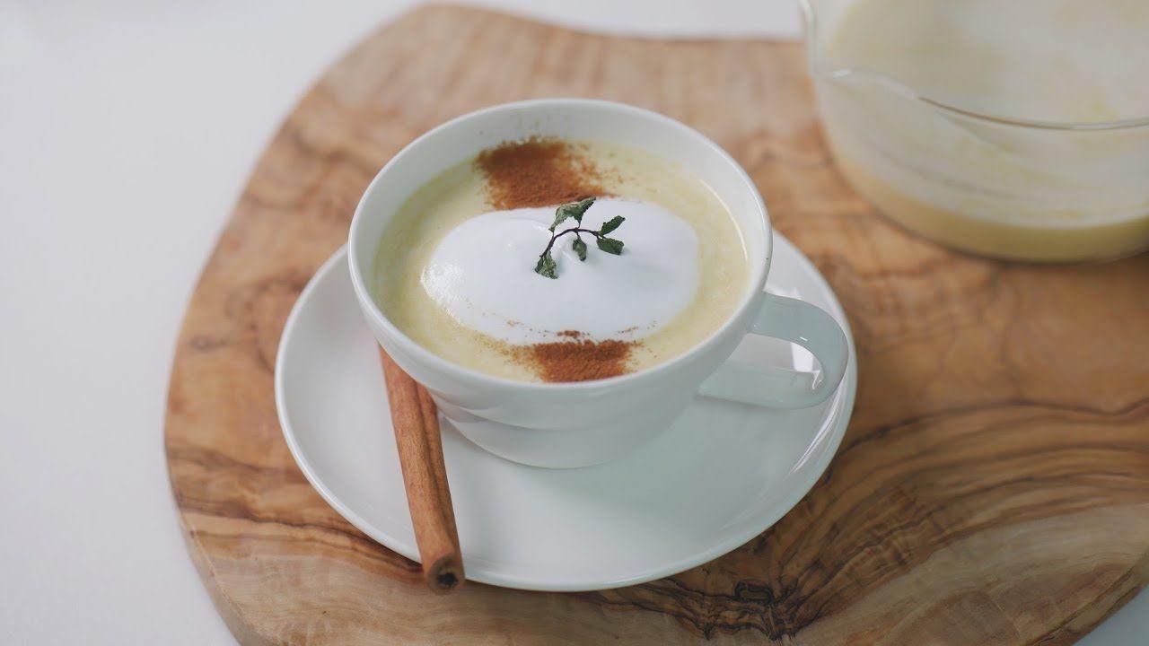 부드러운 🍠 고구마 라떼 만들기 Sweet Potato Latte Recipe | 한세 HANSE