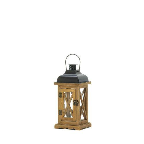 Found it at Wayfair - Hayloft Wooden Lantern