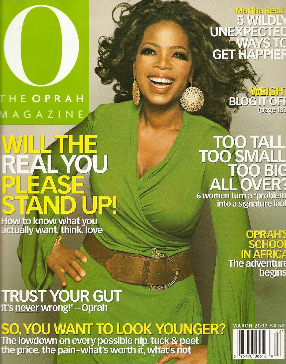 Will the REAL You Please Stand Up! #oprah