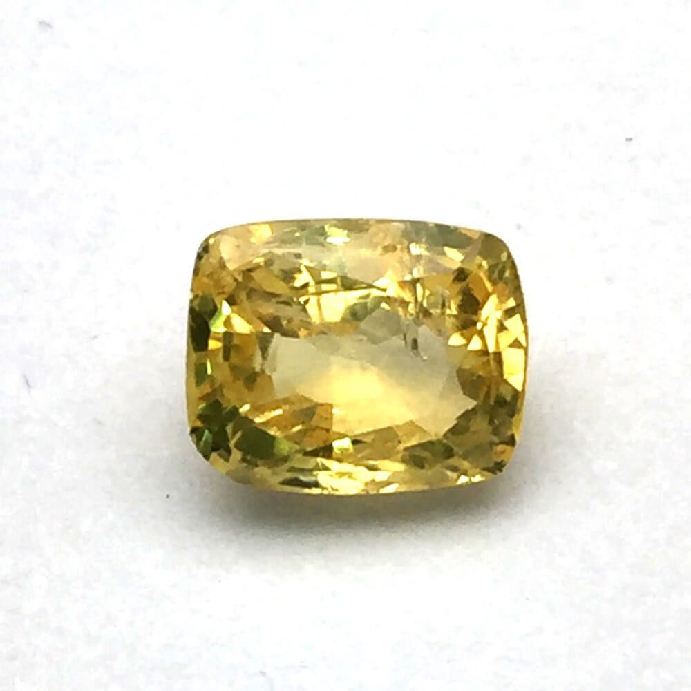 2 59 Carat Natural Ceylon Yellow Sapphire Pukhraj Gemstone Yellow Sapphire Gemstones Gemstone Prices