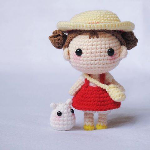 amigurumi-boneca