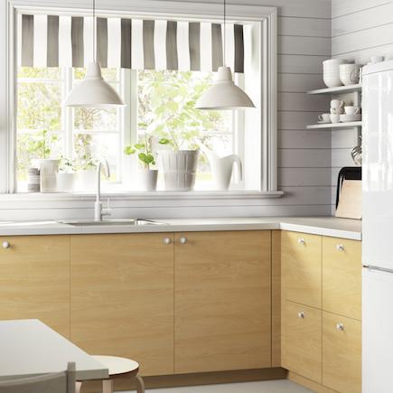 Ikea Kitchen Birch kitchen-compare | ikea metod haganas birch | oak effect