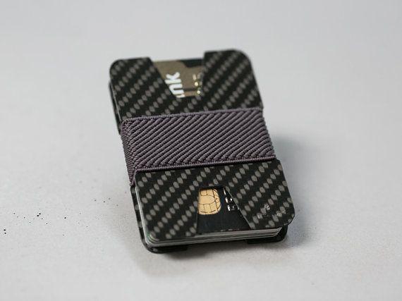 Carbon fiber wallet credit card holder mens wallet womens carbon fiber wallet credit card holder men slim minimalist modern design x colourmoves