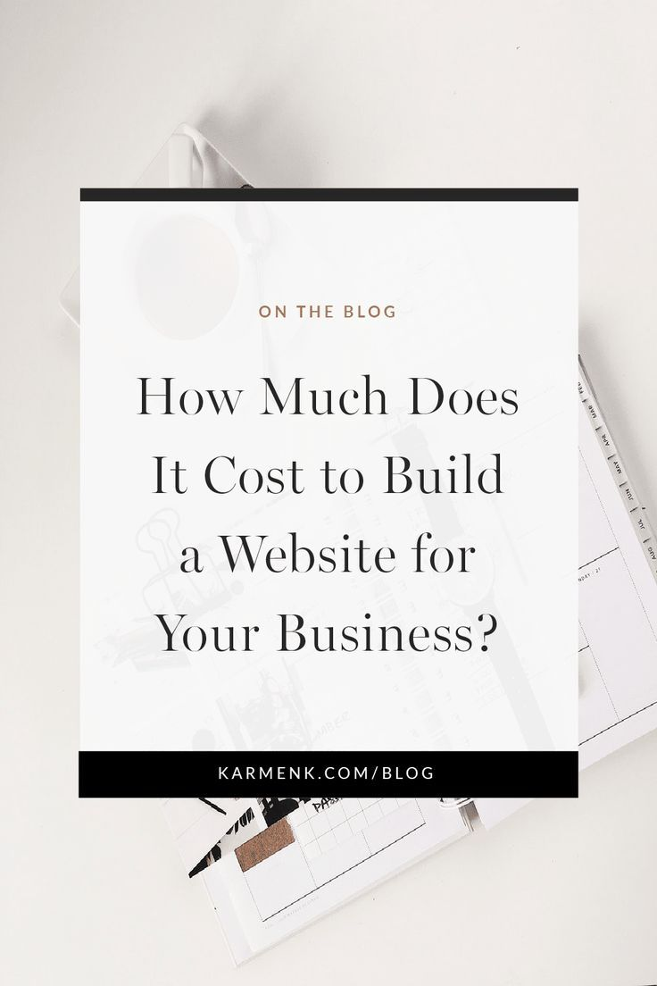 How Much Does It Cost To Build A Business Website