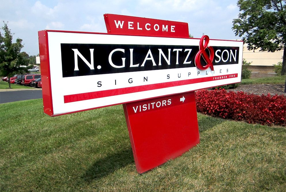 Sign Supplies Indianapolis, IN N.Glantz Signs, Wall