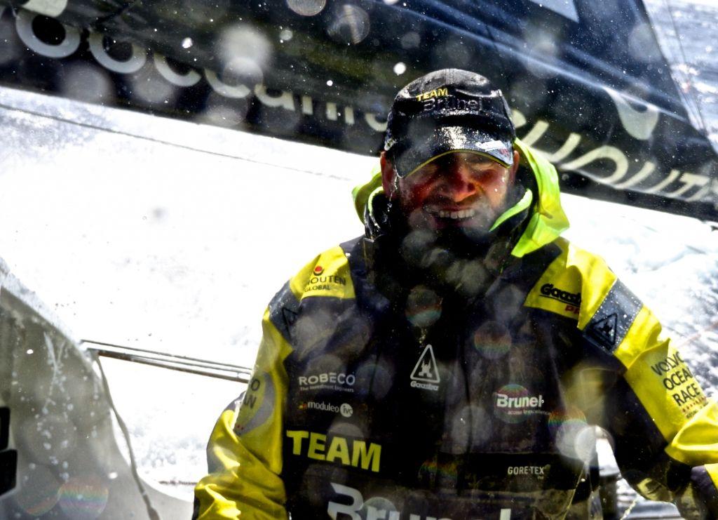 February 14, 2015. Leg 4 to Auckland onboard Team Brunel. Day 6.  - Stefan Coppers / Team Brunel / Volvo Ocean Race