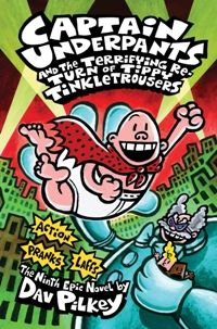 Yea, a new Captain Underpants book!