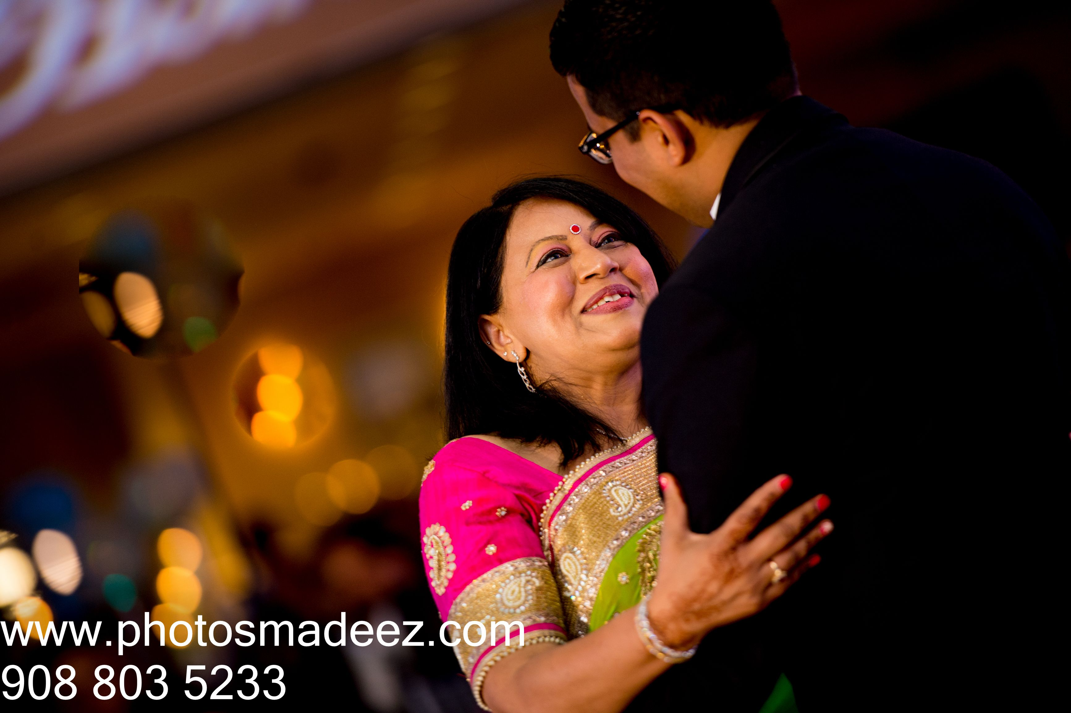 Mother And Son Dance For Indian Wedding Reception At Springfield Country Club Best Weddin Mother Son Dance Best Wedding Photographers Indian Wedding Reception