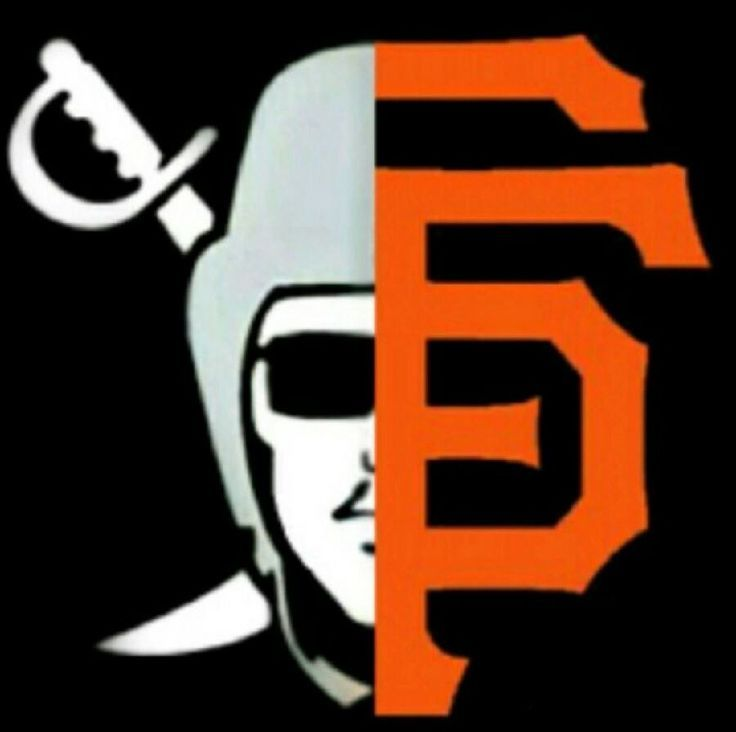 Best of both worlds sfgiants giants raiderfam raidernation