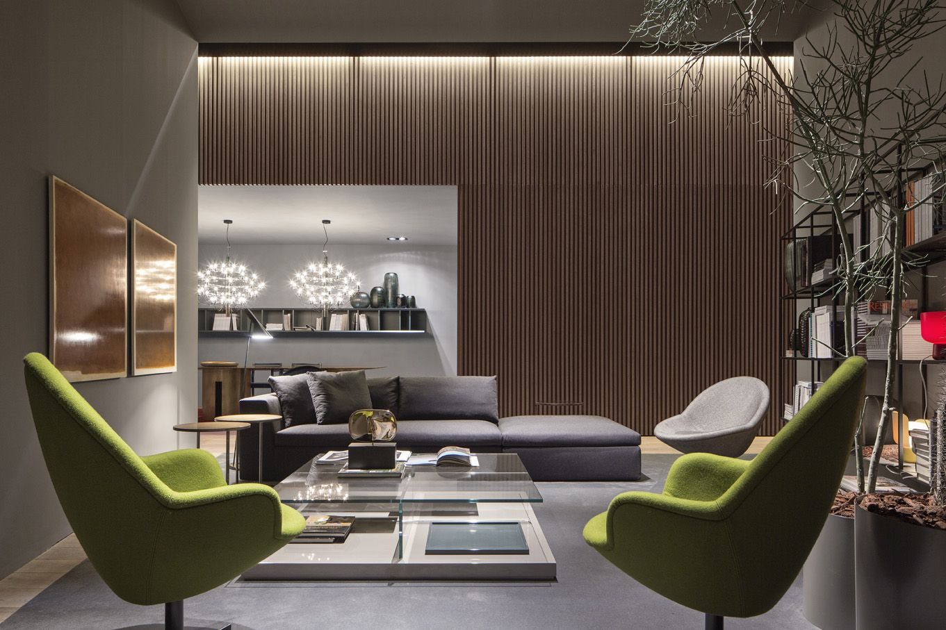 MERIDIANI I  modular sofa I armchairs I low table i wall units