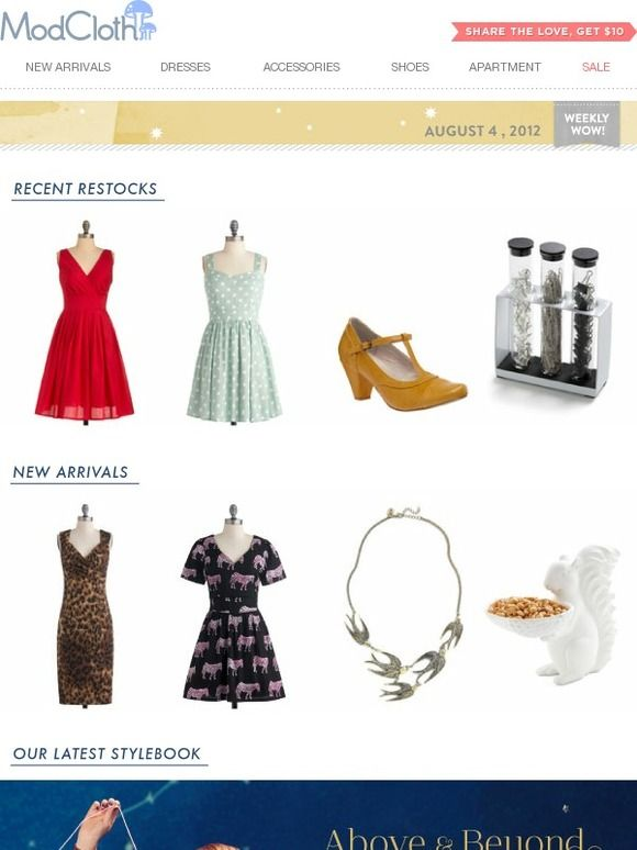 View what's new & score some encores! - Modcloth