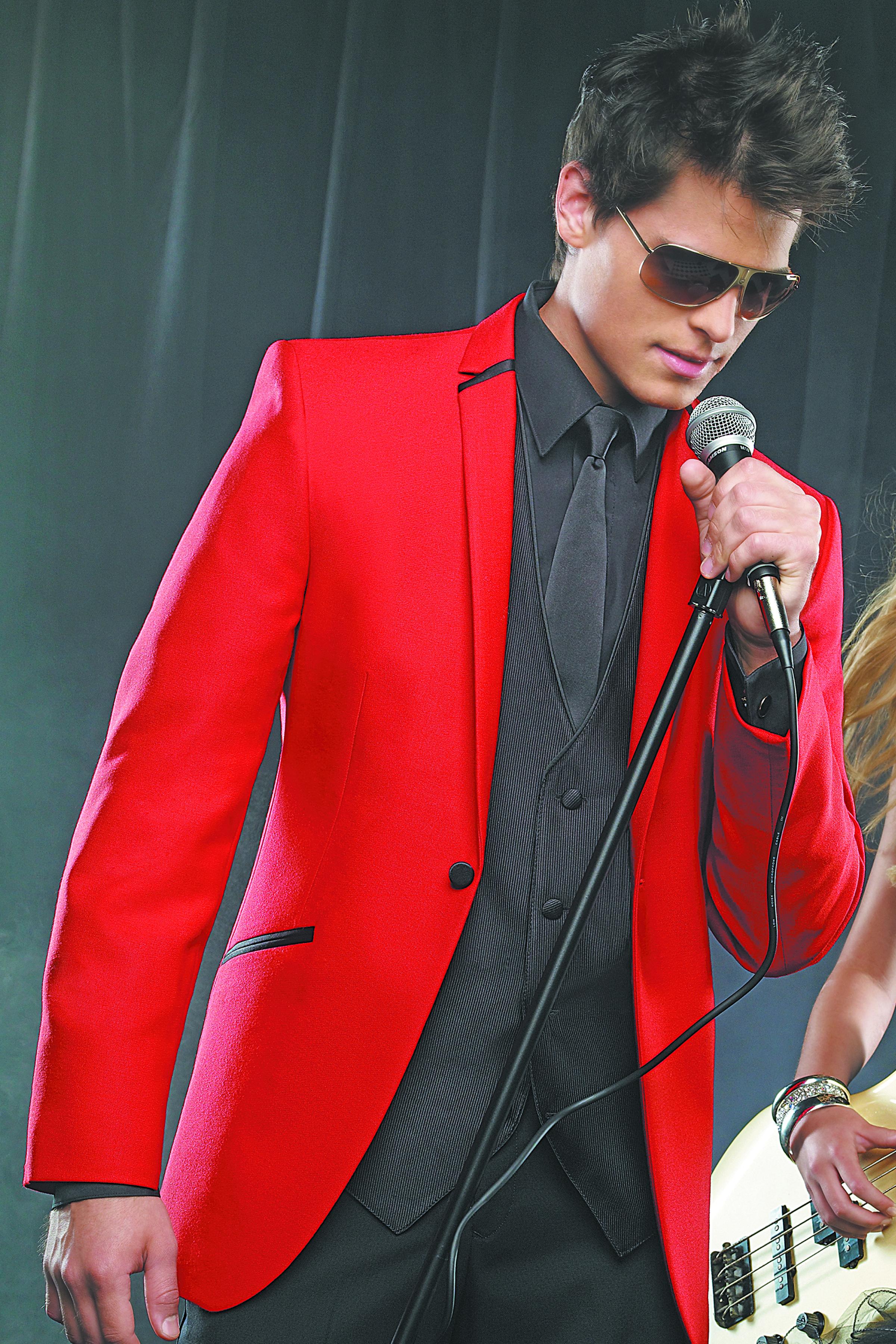 Dunhill Tuxedos Bridal Blog - Dunhill Tuxedos- red illusion tux ...