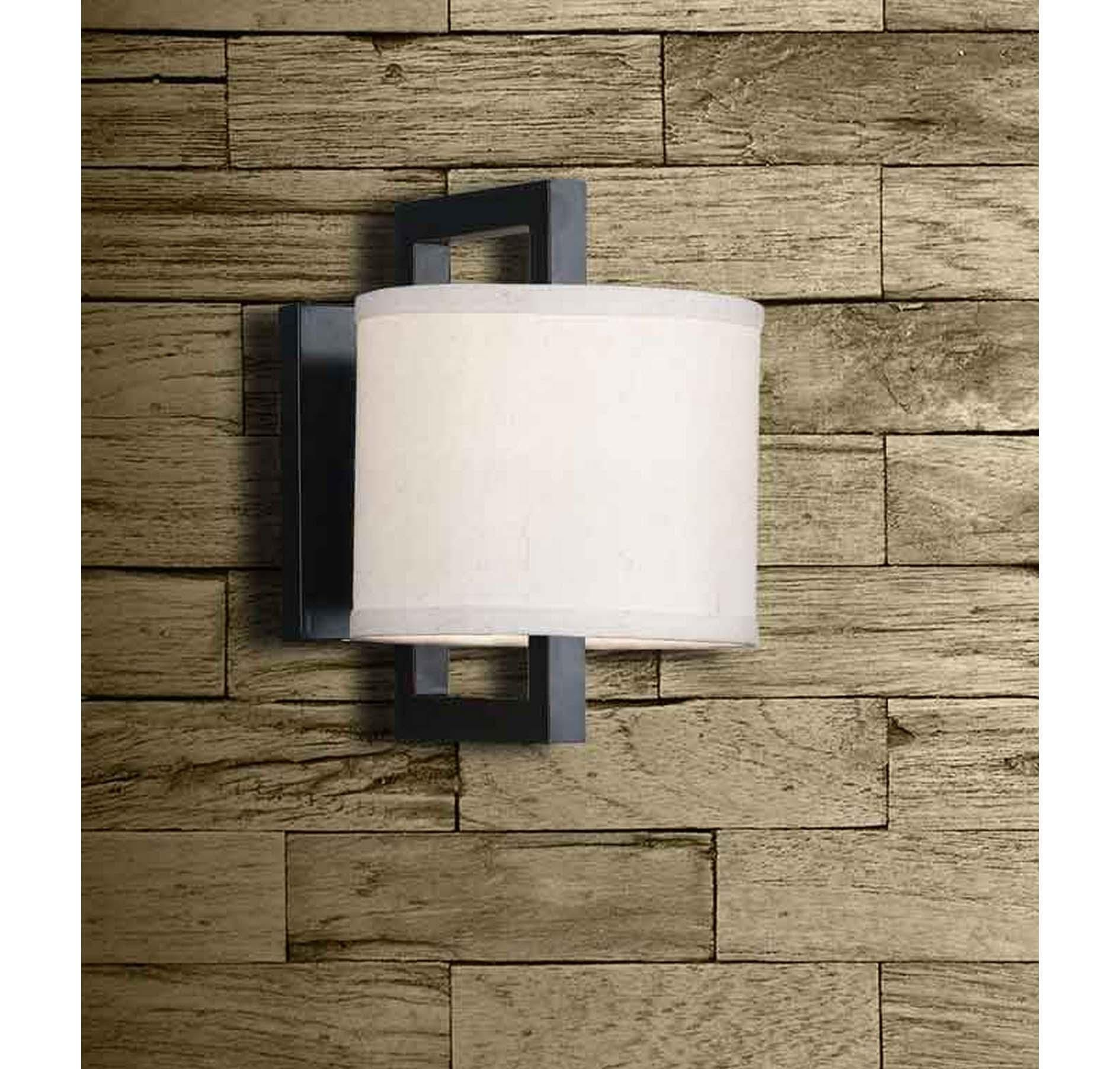 Kenroy home endicott wall sconce in oil rubbed bronze in wall lights