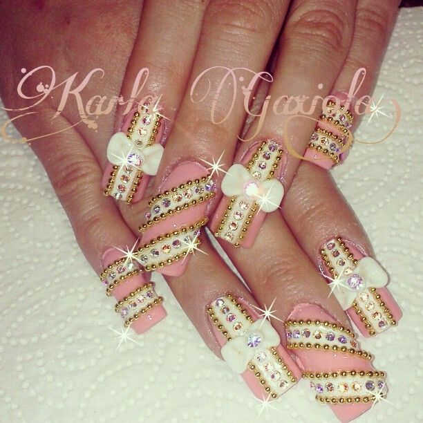 Like But Would Shorten It A Little Bling Nails Hair And Nails Nail Art Diy