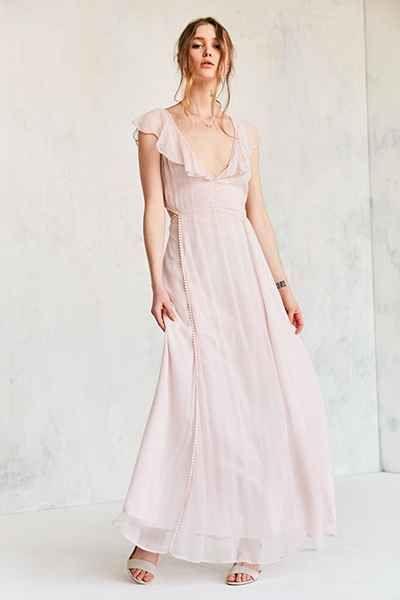 aaf94700ddf Cleobella Auden Cutout Maxi Dress - Urban Outfitters