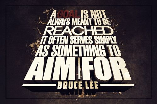 Bruce Lee Quotes Poster