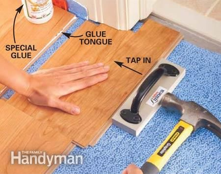 Guide To Installing Laminate Flooring Laminate Install Pinterest