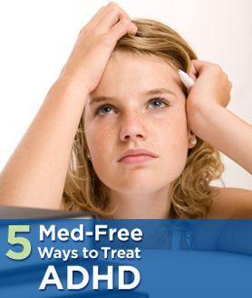 Natural Way To Treat Adhd Treatment