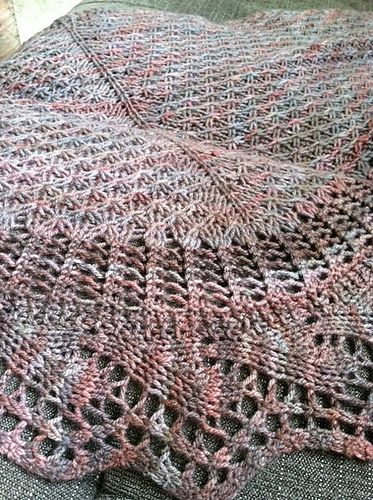 The Archlight Shawl pattern by Megan Bohlander | tejidos de punto ...