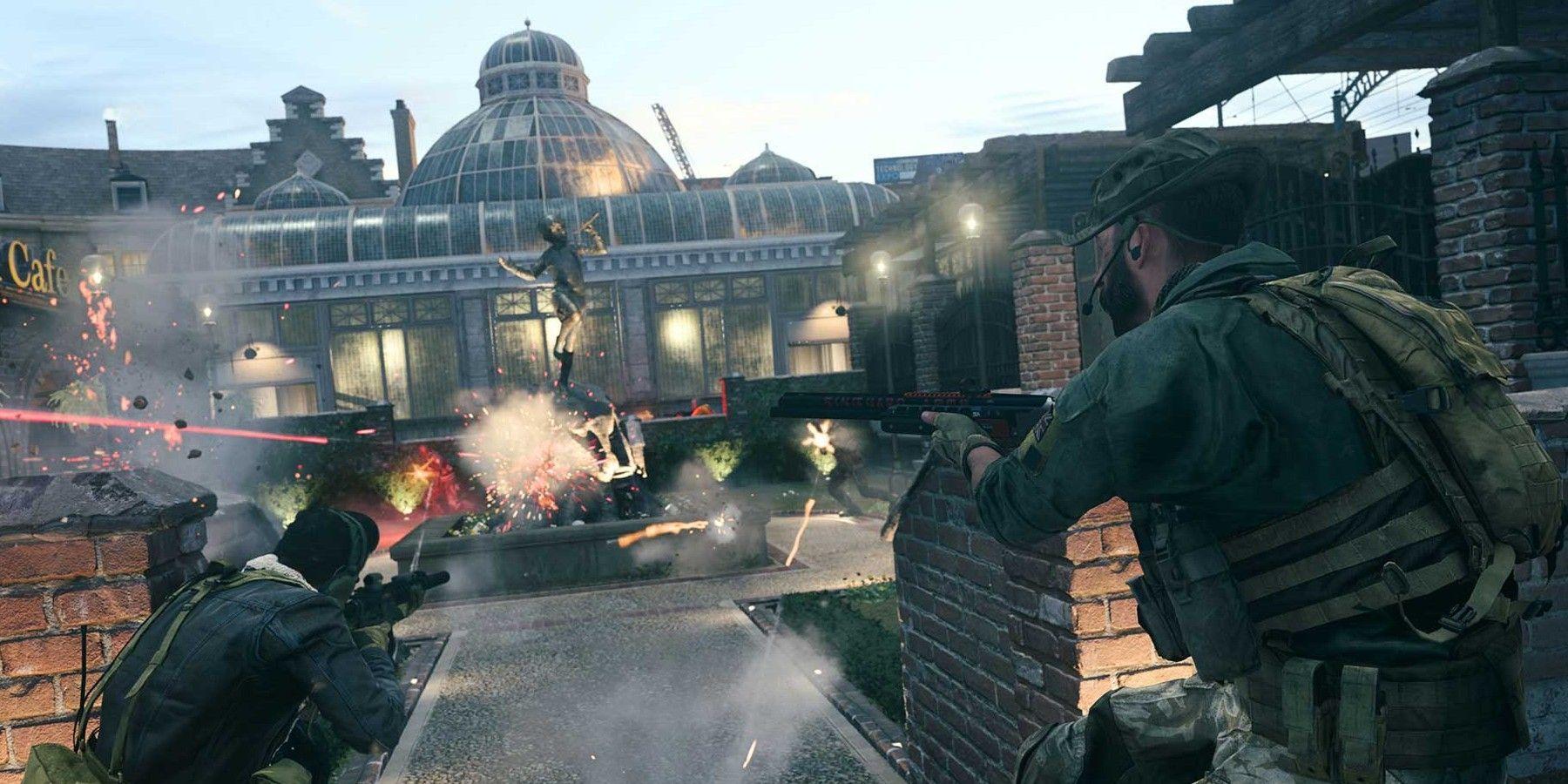 Modern Warfare Season 4 Easter Egg Found In New Cheshire Park Map In 2020 Call Of Duty Modern Warfare Warfare