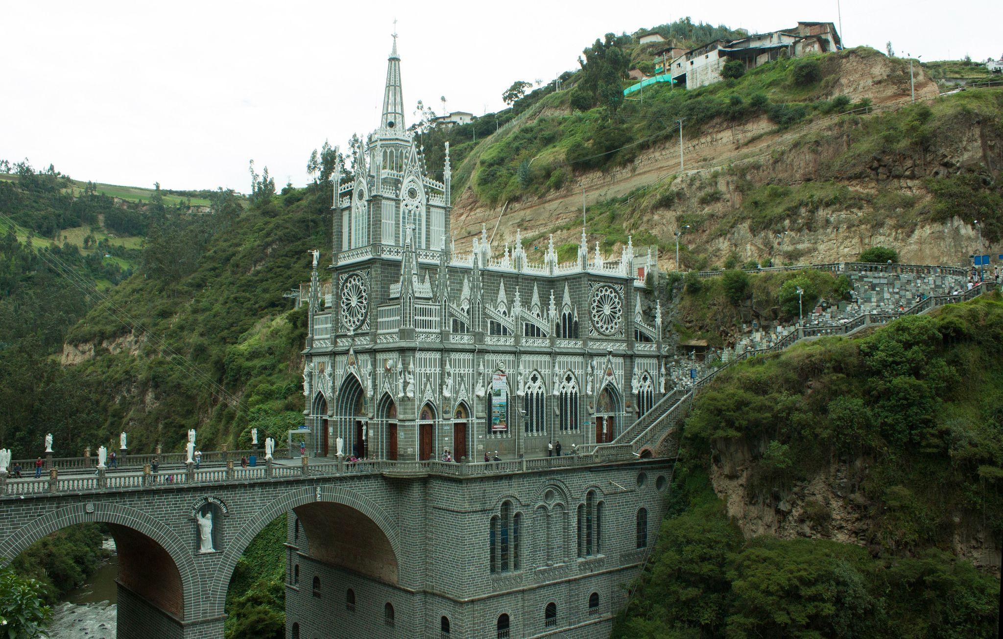 https://flic.kr/p/yDcTjA | Santuario de las lajas - Templo 1