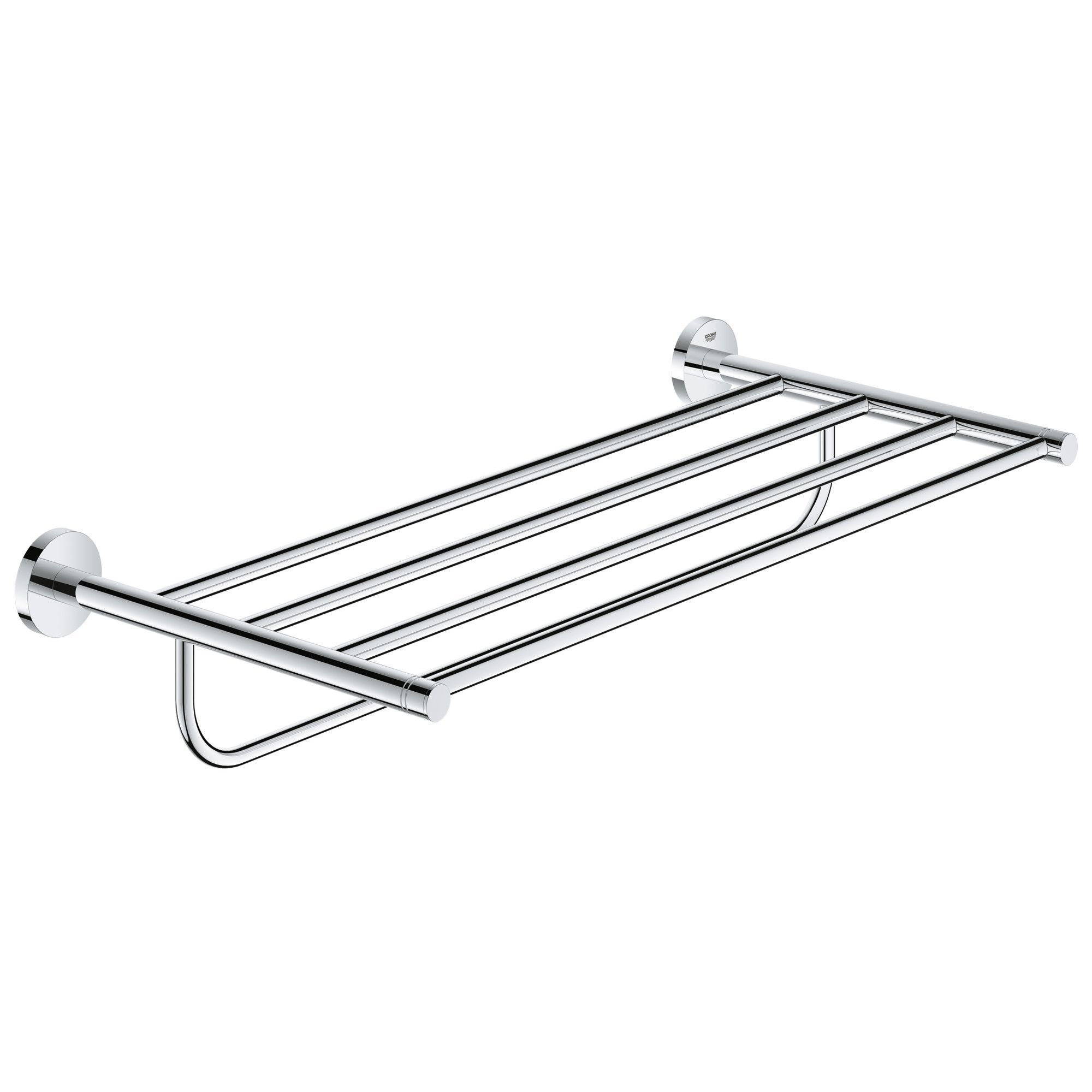 Essentials 22 Wall Mounted Multi Towel Rack