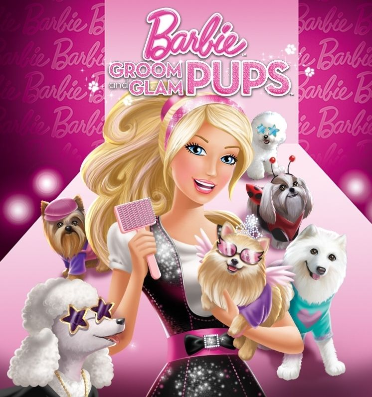 New Movie Groom Glam Pups With Images Barbie Movies Barbie Wii