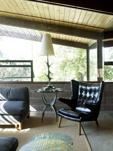 LA: Home of Kate Rivinus & Adam Blackman. 11/7/2011 via @Design*Sponge