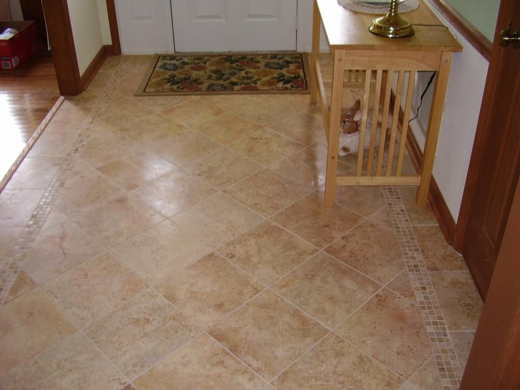 Foyer Tile Designs Images : Tiled foyer designs picture