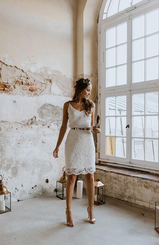 Kurze Brautkleider - Labude Brautmode Köln #corsages