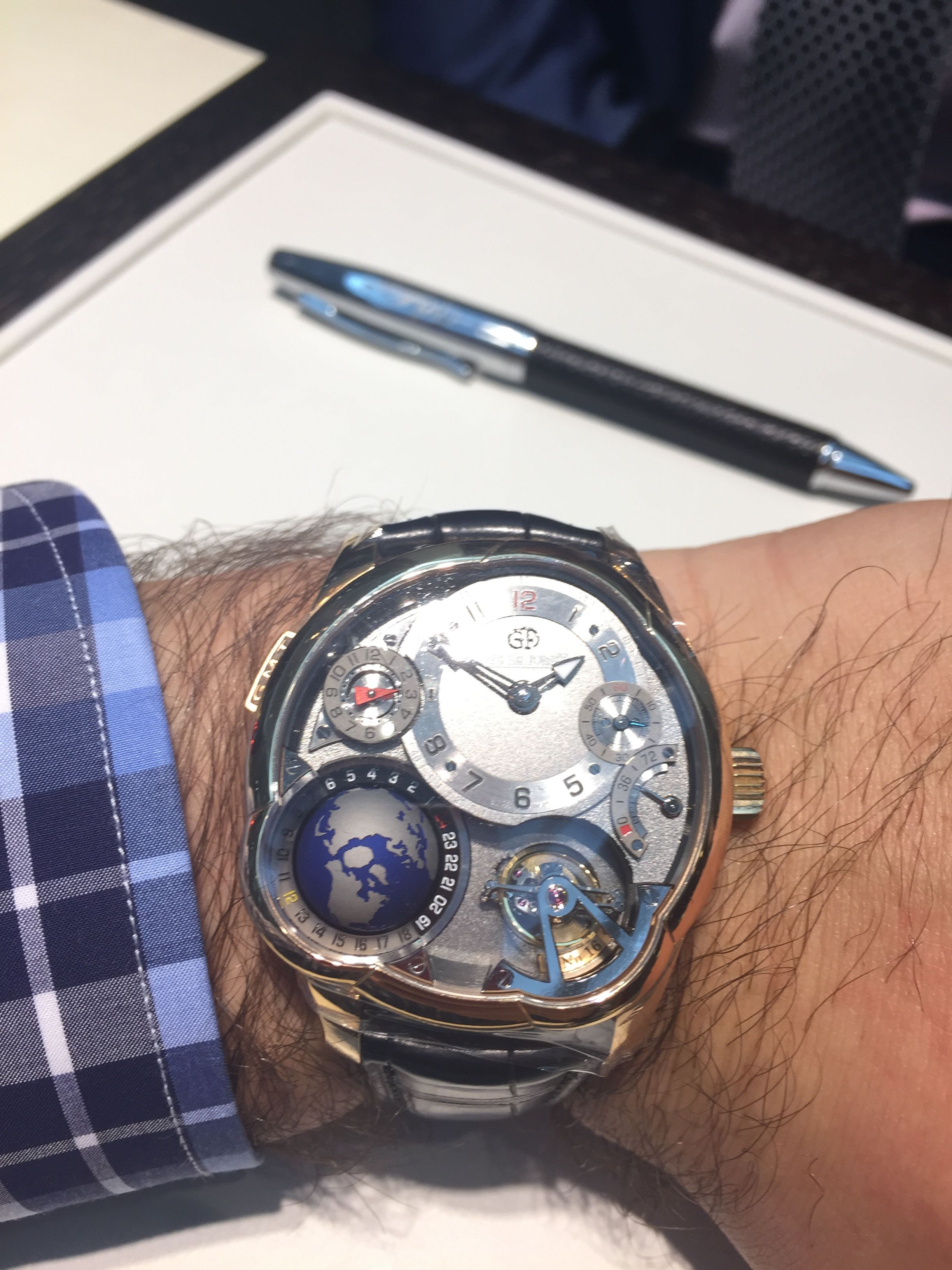 It doesn t better than this Greubel Forsey GMT