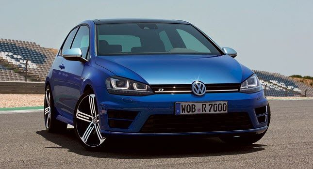 AllNew VW Golf R Mk7 Officially Revealed, Comes with