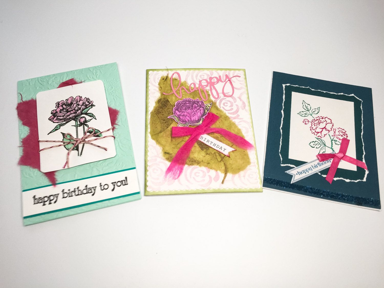 Birthday Cards Unique ~ Handmade birthday cards flower birthday cards pink roses