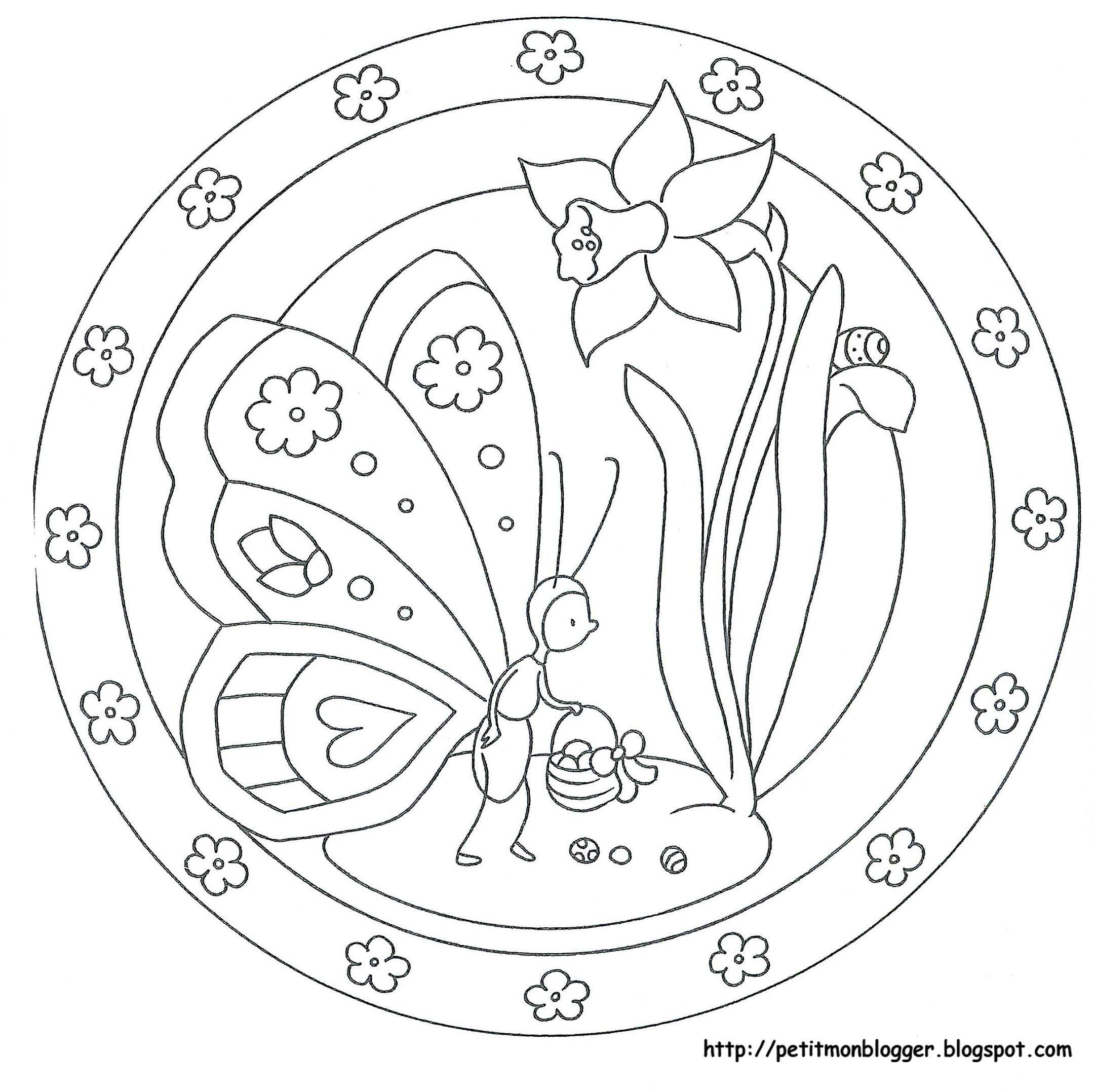 Ilkbahar Mandala Ile Ilgili Gorsel Sonucu Boyama Sayfalari Mandala Boyama Sayfalari Mandala