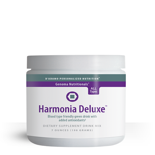 Harmonia Deluxe - This exceptional blend of nutrients is formulated to enhance your overall health, vitality, and energy. You know you should eat more fresh, healthy greens — now here is a healthy way to introduce those fruits and vegetables into your daily diet.
