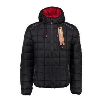 289a98db0298 Doudoune à capuche homme BANETTO black   oli-technic   Fashion ...