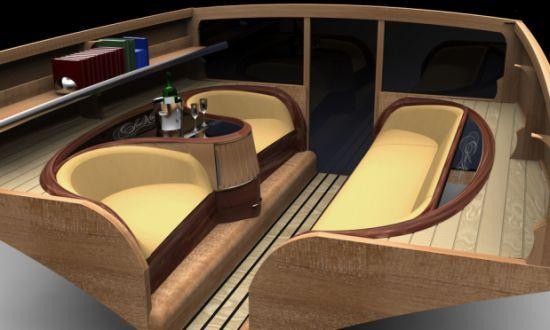 Sea King Yacht de luxe intérieur