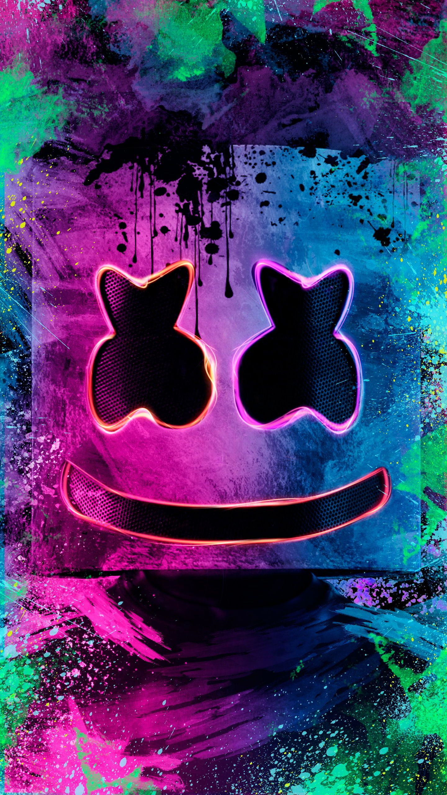 Marshmello Wallpaper Dj Wallpaper Fanart Iphone Save Marshmello Papel De Parede De Arte Marshmello Wallpapers Wallpaper De Desenhos Animados