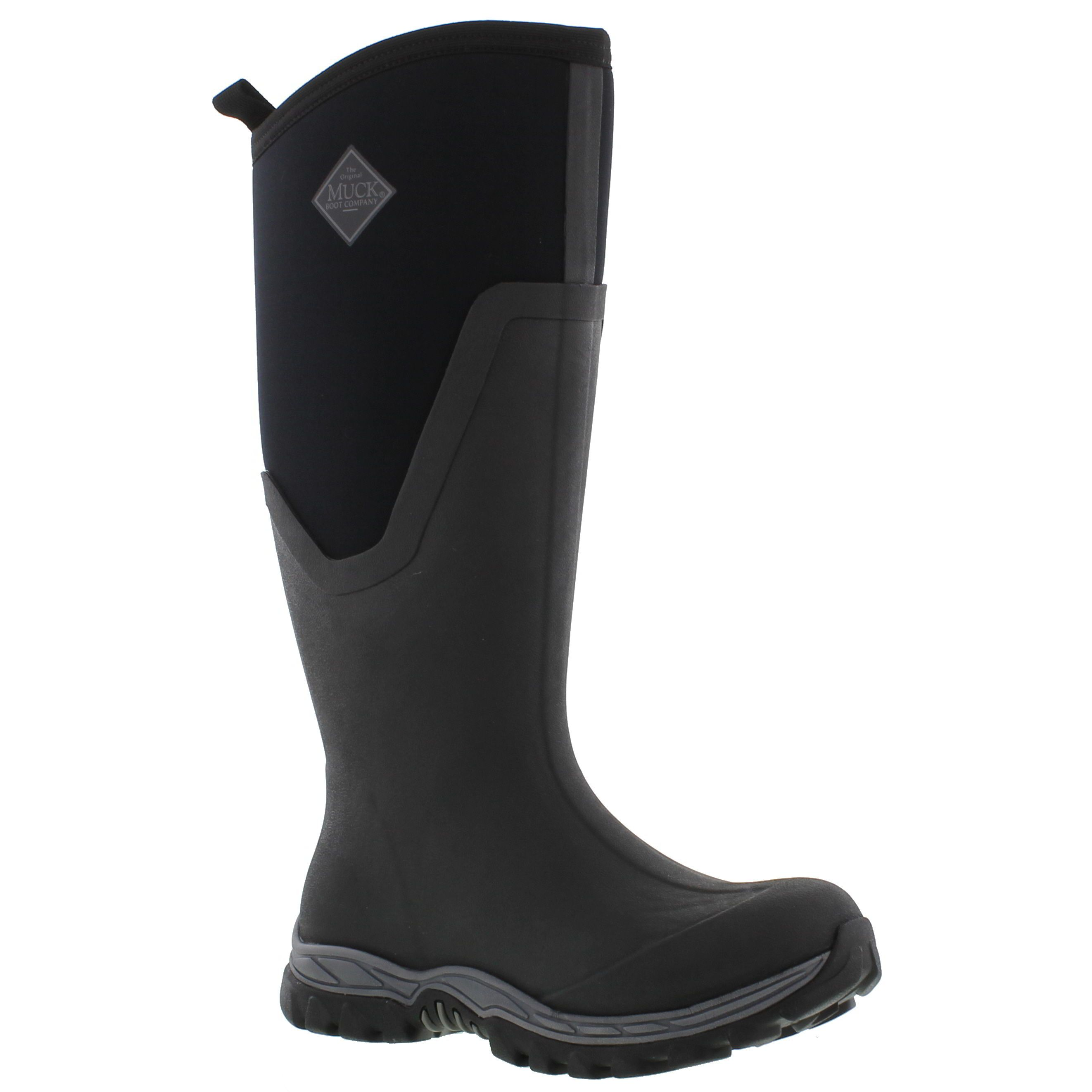 Muck Boots Womens Arctic Sport II Tall Wellington Boots - Black ...