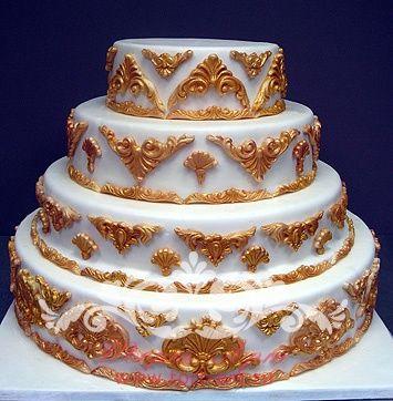 Свадебные торты — Свадебный торт «Барокко»