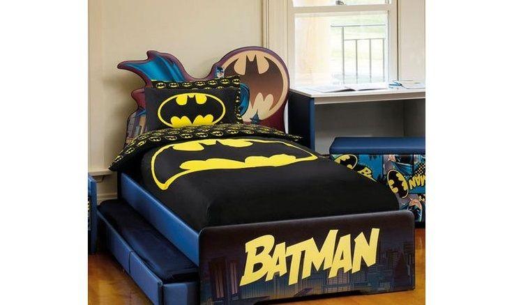 Batman Bedding Superhero Themed Bedding For Boys Batman Bed Batman Room Batman Bedroom